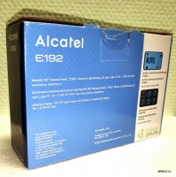 Alcatel E132 new black